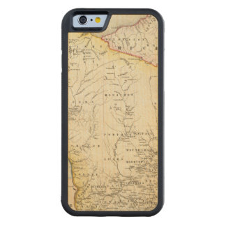 Wisconsin 6 carved® maple iPhone 6 bumper