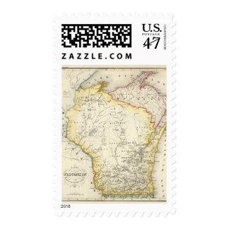 Wisconsin 6 postage