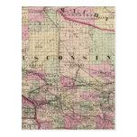 Wisconsin 9 postales