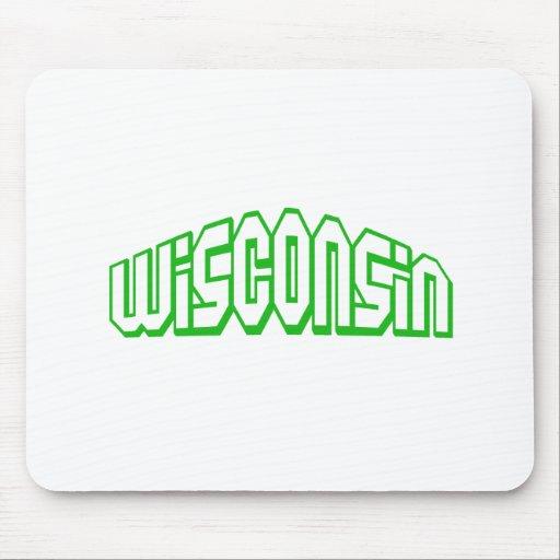Wisconsin Alfombrillas De Ratones