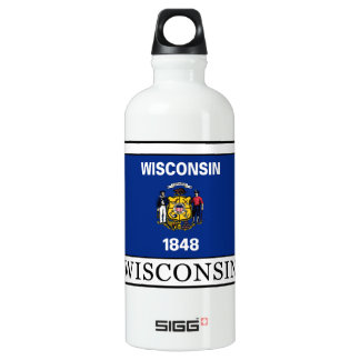 Wisconsin Aluminum Water Bottle