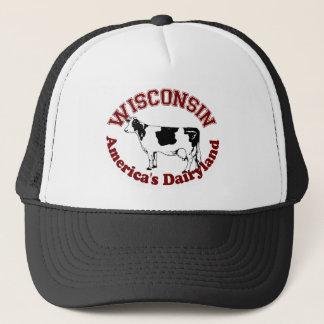 Wisconsin America's Dairyland Trucker Hat