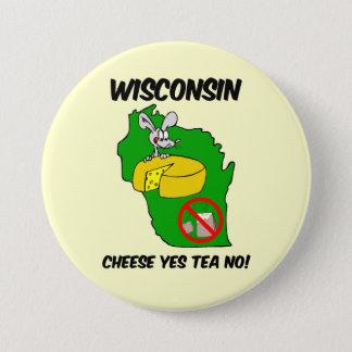 Wisconsin anti tea party button