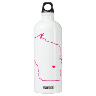 Wisconsin Apparel Aluminum Water Bottle