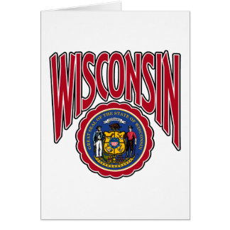 Wisconsin Arc and Seal Card