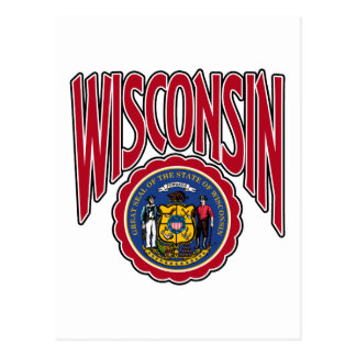 Wisconsin Arc and Seal Postcard