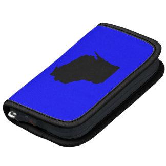 Wisconsin azul y negro organizador