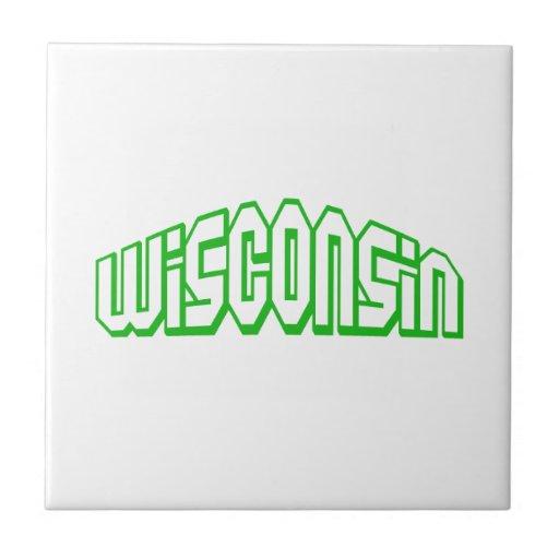 Wisconsin Azulejo Cuadrado Pequeño