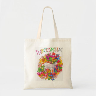 Wisconsin Baby Goat Tote Bag
