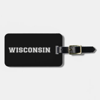 Wisconsin Bag Tag