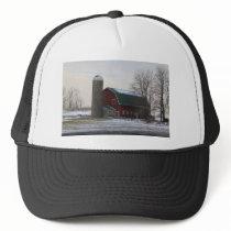 Wisconsin Barn Trucker Hat