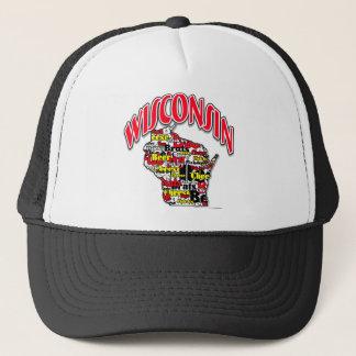 Wisconsin Beer Brats Cheese Fish-Fry Trucker Hat