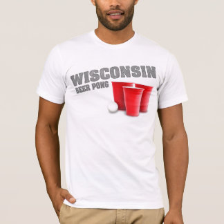 Wisconsin Beer Pong T-Shirt