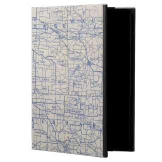 Wisconsin Bicycle Road Map 2 iPad Air Cover
