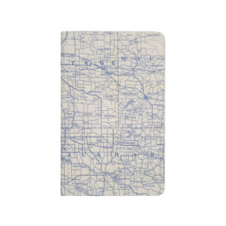 Wisconsin Bicycle Road Map 2 Journal