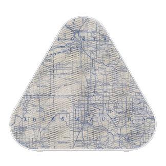 Wisconsin Bicycle Road Map 2 Speaker