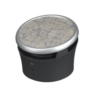 Wisconsin Bicycle Road Map 4 Bluetooth Speaker
