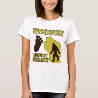 Wisconsin Bigfoot Research T-Shirt