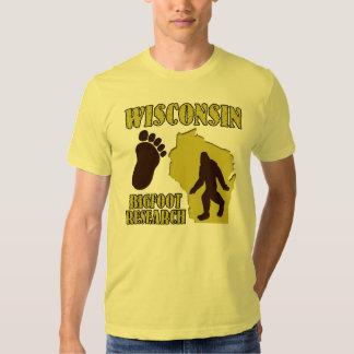Wisconsin Bigfoot Research Tee Shirt