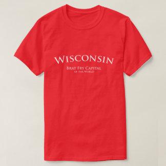 Wisconsin - Brat Fry Capital of the World Tshirt
