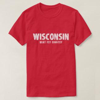 Wisconsin – Brat Fry Country Tshirt