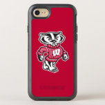 "Wisconsin | Bucky Badger Mascot OtterBox Symmetry iPhone 8/7 Case<br><div class=""desc"">This design is officially licensed artwork from the University of Wisconsin.</div>"