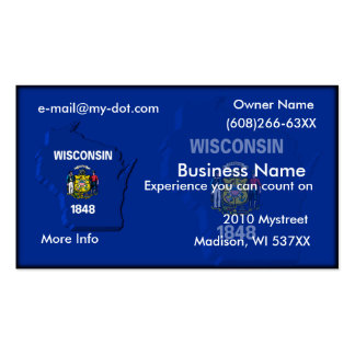 Wisconsin Business Card
