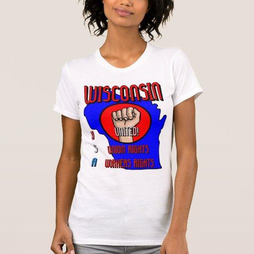 Wisconsin Camisetas