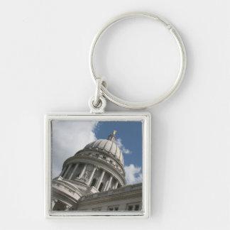 Wisconsin Capitol Keychain
