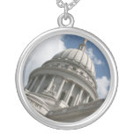 Wisconsin Capitol Necklace