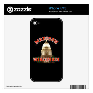 Wisconsin capitol Skin Skin For The iPhone 4S