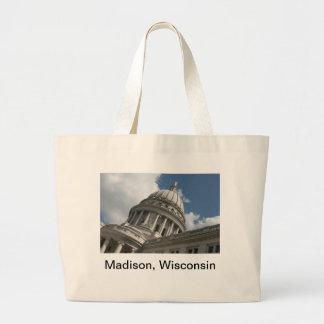 Wisconsin Capitol Tote Bag