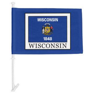 Wisconsin Car Flag