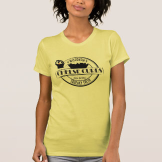 Wisconsin Cheese Curds Tshirts