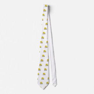Wisconsin cheese head neck tie