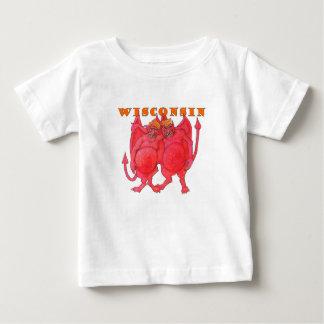 Wisconsin Cheesehead Demons Baby T-Shirt
