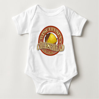 Wisconsin Cheesehead Seal Baby Bodysuit