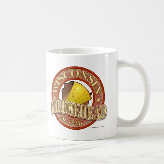 Wisconsin Cheesehead Seal Coffee Mug