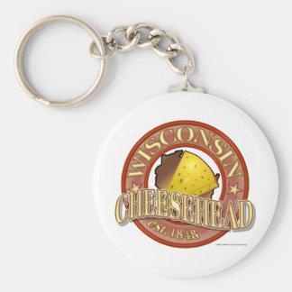 Wisconsin Cheesehead Seal Key Chain