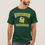 Wisconsin cheesehead t shirts
