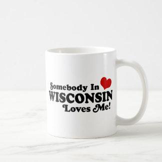 Wisconsin Classic White Coffee Mug