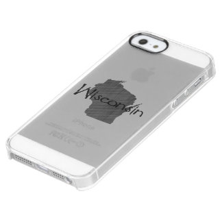 Wisconsin Clear iPhone SE/5/5s Case