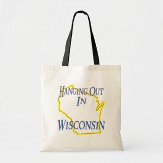 Wisconsin - colgando hacia fuera bolsa de mano