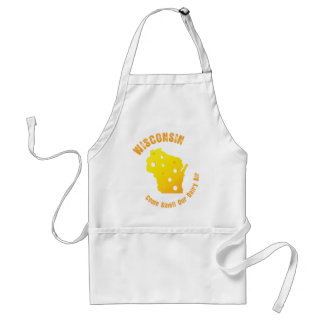 Wisconsin Come Smell Our Dairy Air Adult Apron