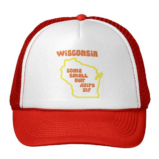Wisconsin Come Smell Our Dairy Air Hat