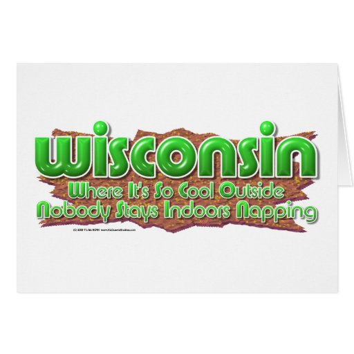 Wisconsin Cool Card