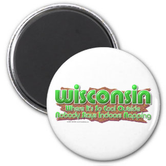 Wisconsin Cool Magnet
