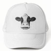Wisconsin Cow Face Trucker Hat