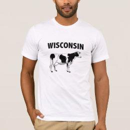 Wisconsin Cow t-shirt