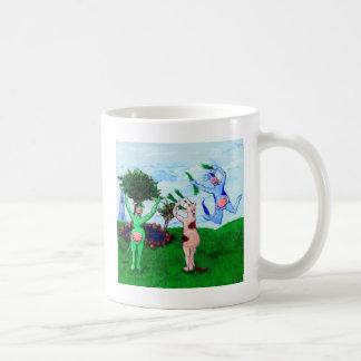 Wisconsin Cows Leaping Coffee Mug